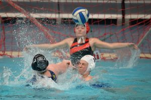 CSWPC Action During Girls U17's Bronze Play off against Otter 2019