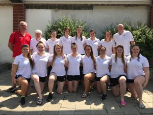 England Senior Womens team EU Nations 2019